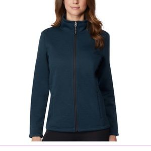 Plush-Lined Full Zip Fleece Jacket NWT